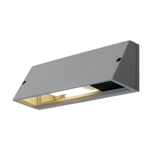 SLV SLV 230034 PEMA SQUARE wall light, silver-grey, E27, max. 15W 4024163127851 230034