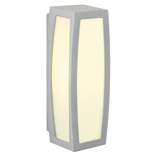 SLV SLV 230044 MERIDIAN BOX wall and ceiling light, silver-grey, E27, max. 25W 4024163123884 230044