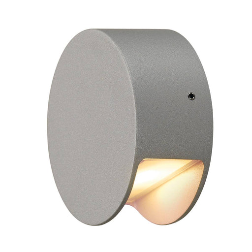 SLV SLV 231012 PEMA LED wall light, silver-grey, 3.3W LED, 3000K, IP44 4024163004589 231012