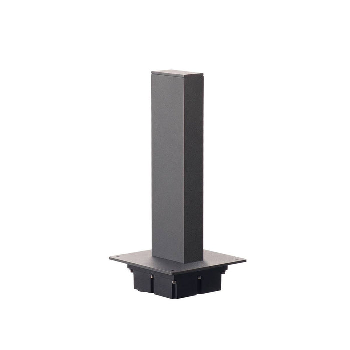 H-POL, pathway and floor stand, single-headed, LED, 3000K, anthracite, L/W/H 16.5/16.5/36 cm