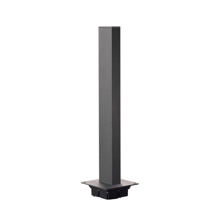 SLV SLV 232165 H-POL, pathway and floor stand, single-headed, LED, 3000K, anthracite, L/W/H 16.5/16.5/66 cm 4024163167796 232165