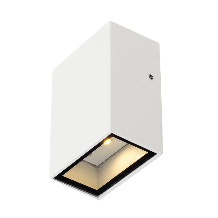 QUAD 1 wall light, square, white, LED, 1x3W, 3000K, IP44