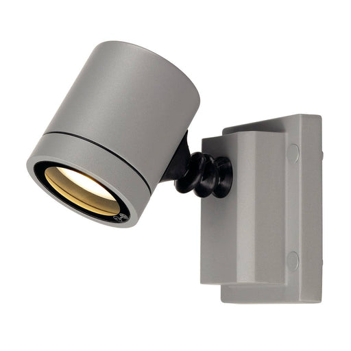 SLV SLV 233104 NEW MYRA WALL LIGHT, silver-grey, GU10, max. 50W, IP55 4024163140294 233104