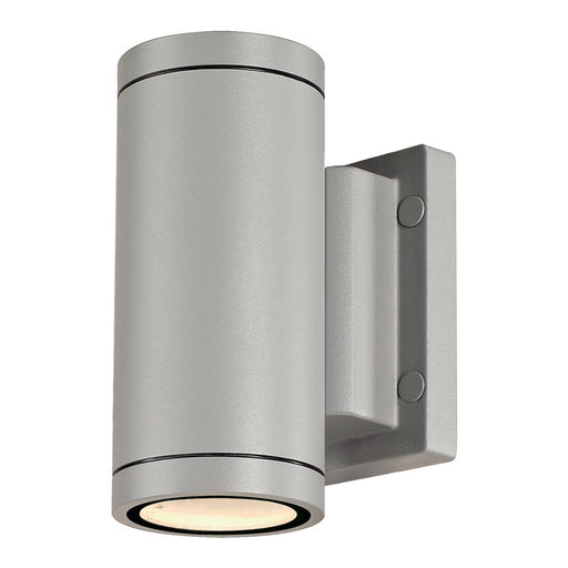 SLV SLV 233114 NEW MYRA UP/DOWN wall light, silver-grey, 2x GU10 , max 2x 35W, IP55 4024163140317 233114
