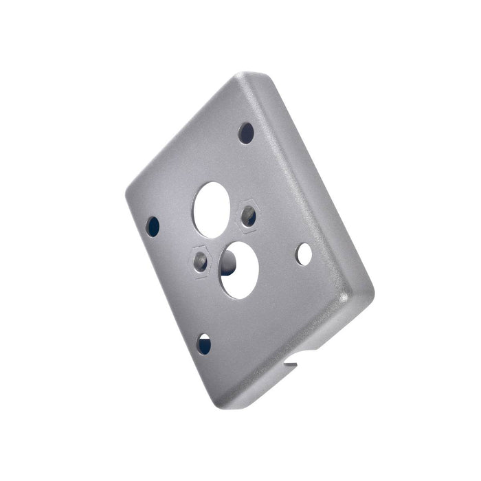 SLV SLV 233214 Adapter frame for surface-mounted cable, silver-grey 4024163157186 233214