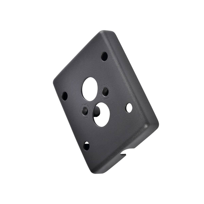 SLV SLV 233215 Adapter frame for surface-mounted cable, anthracite 4024163157179 233215
