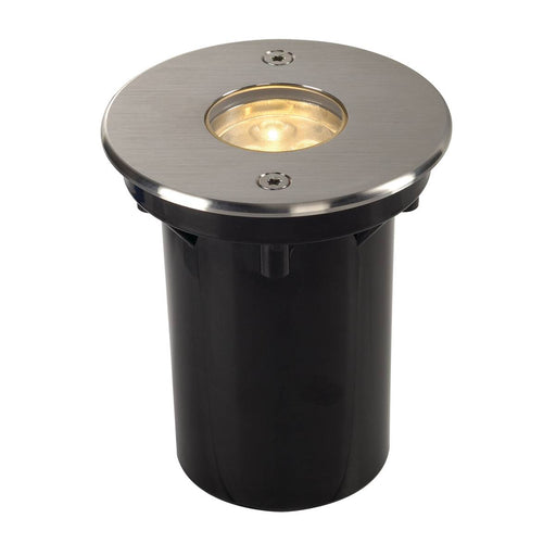 DASAR LED inground fitting, round, stainless steel 316, 6W , 3000K, 12-25V, IP67
