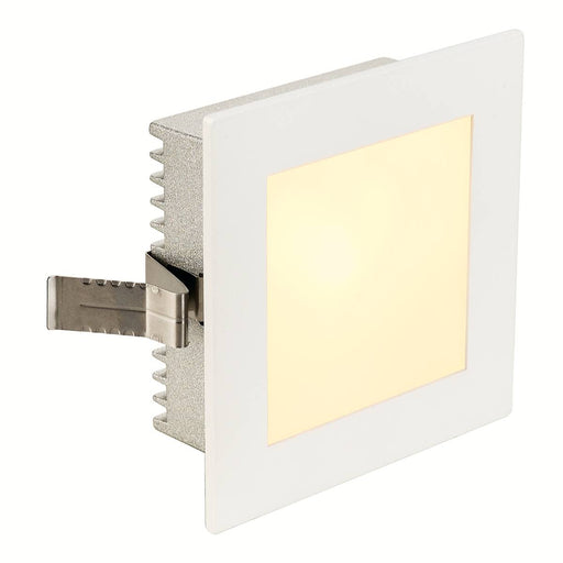 SLV SLV 112731 FLAT FRAME BASIC recessed light, square, white, G4, max. 20W 4024163136273 112731