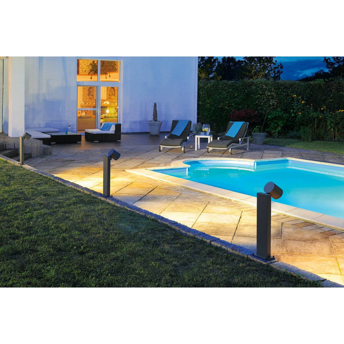 SLV SLV 228545 ENOLA_C OUT POLE floor stand, anthracite, 12W LED, 35°, 3000K 4024163157193 228545