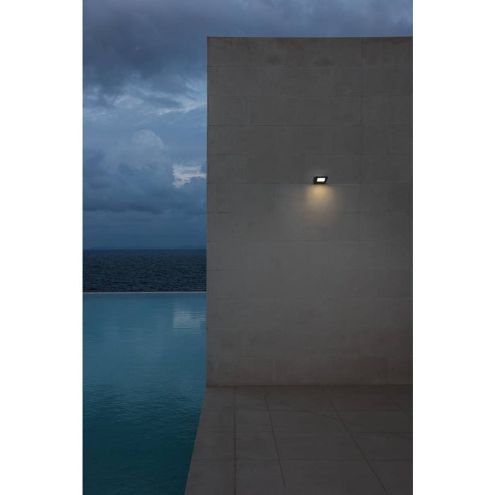 SLV 231315 IPERI WL wall light, anthracite , 48 SMD LED, 4W, 4000K, IP44