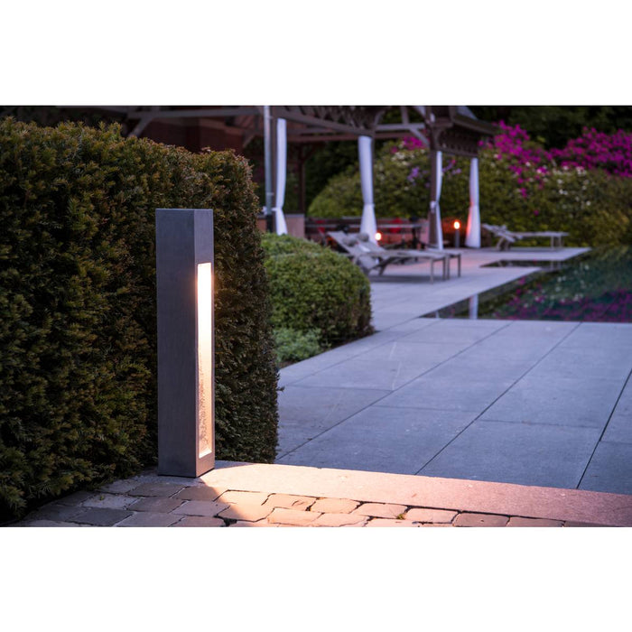 SLV SLV 231371 ARROCK STONE LED 75 bollard, 75 cm, stone-grey, 6W COB LED, IP44 4024163156370 231371