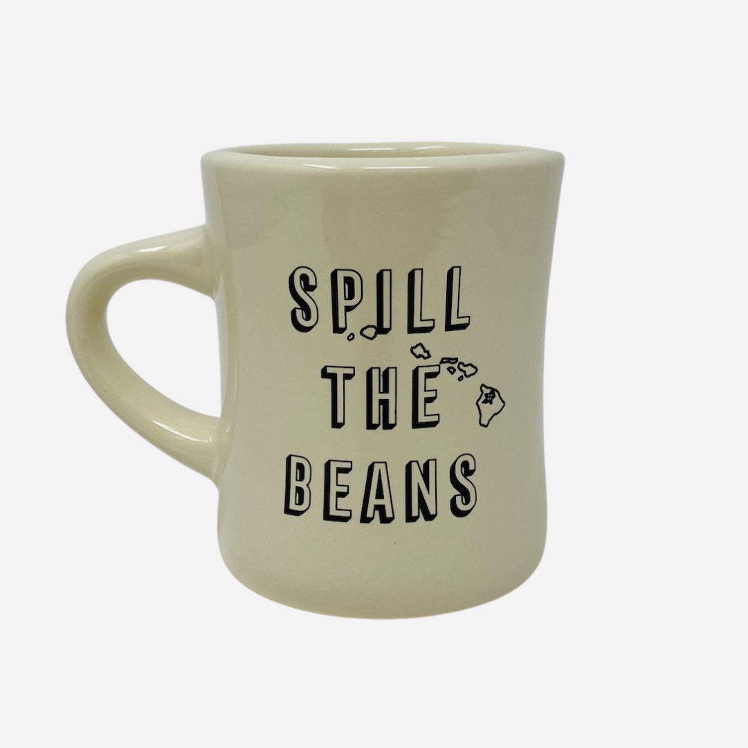 "Hawaiian Vanilla Co. - ""Spill The Beans"" Mug"