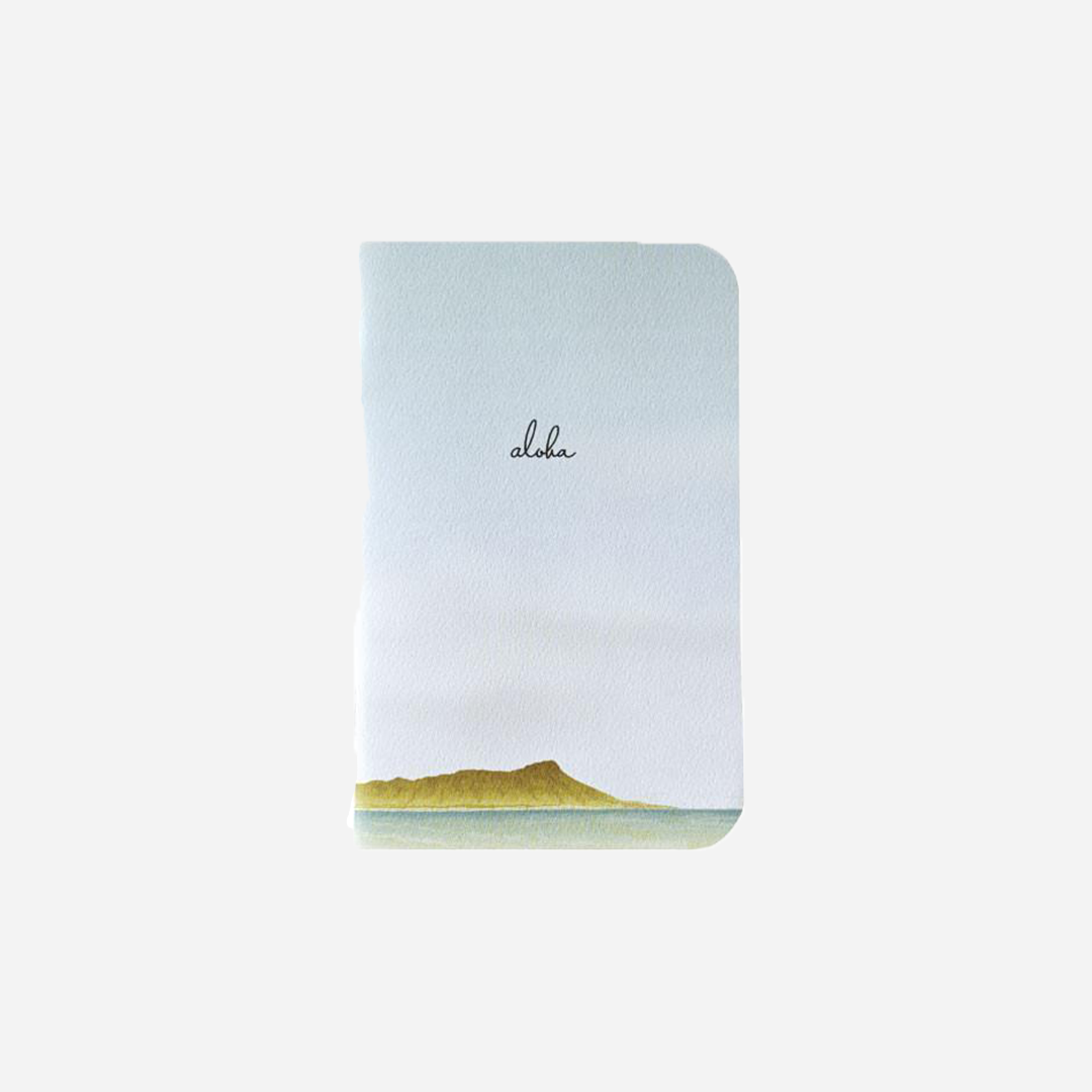 Bradley & Lily - Diamond Head Mini Notebook
