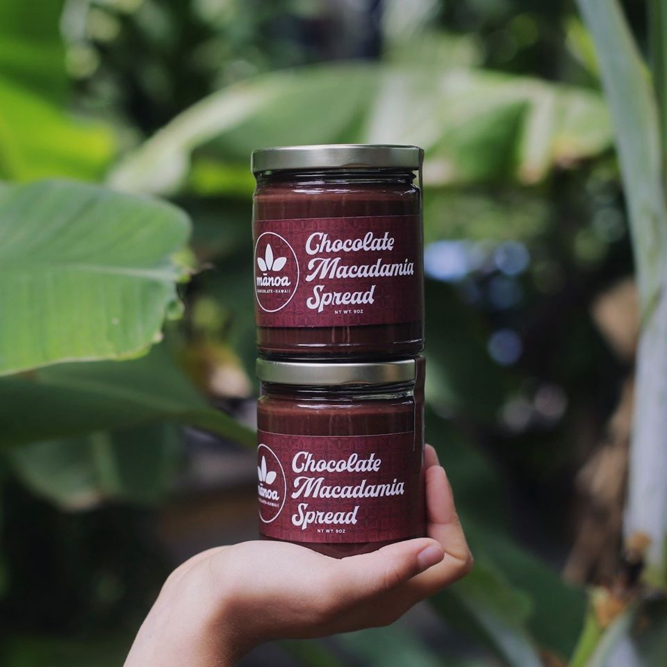 Mānoa Chocolate Macadamia Nut Spread (9 oz.)