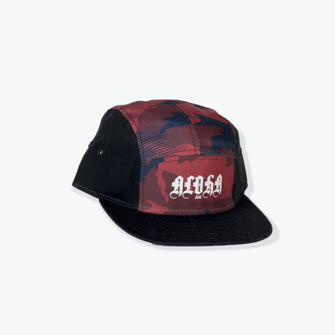 Ambassadors with Aloha - Aloha Camo 5 Panel Hat