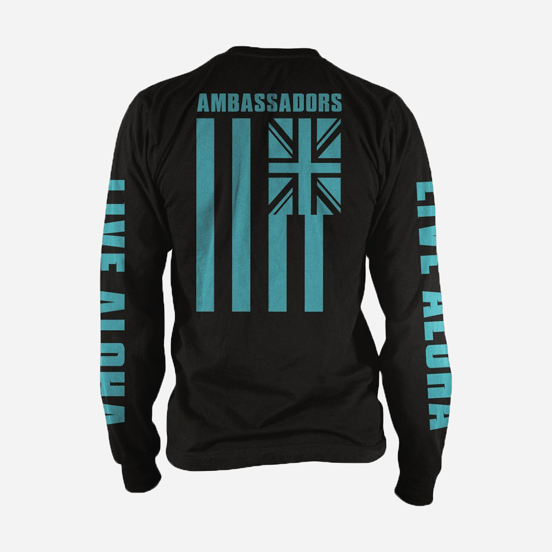 Ambassadors with Aloha - Live Aloha Long Sleeve Tee