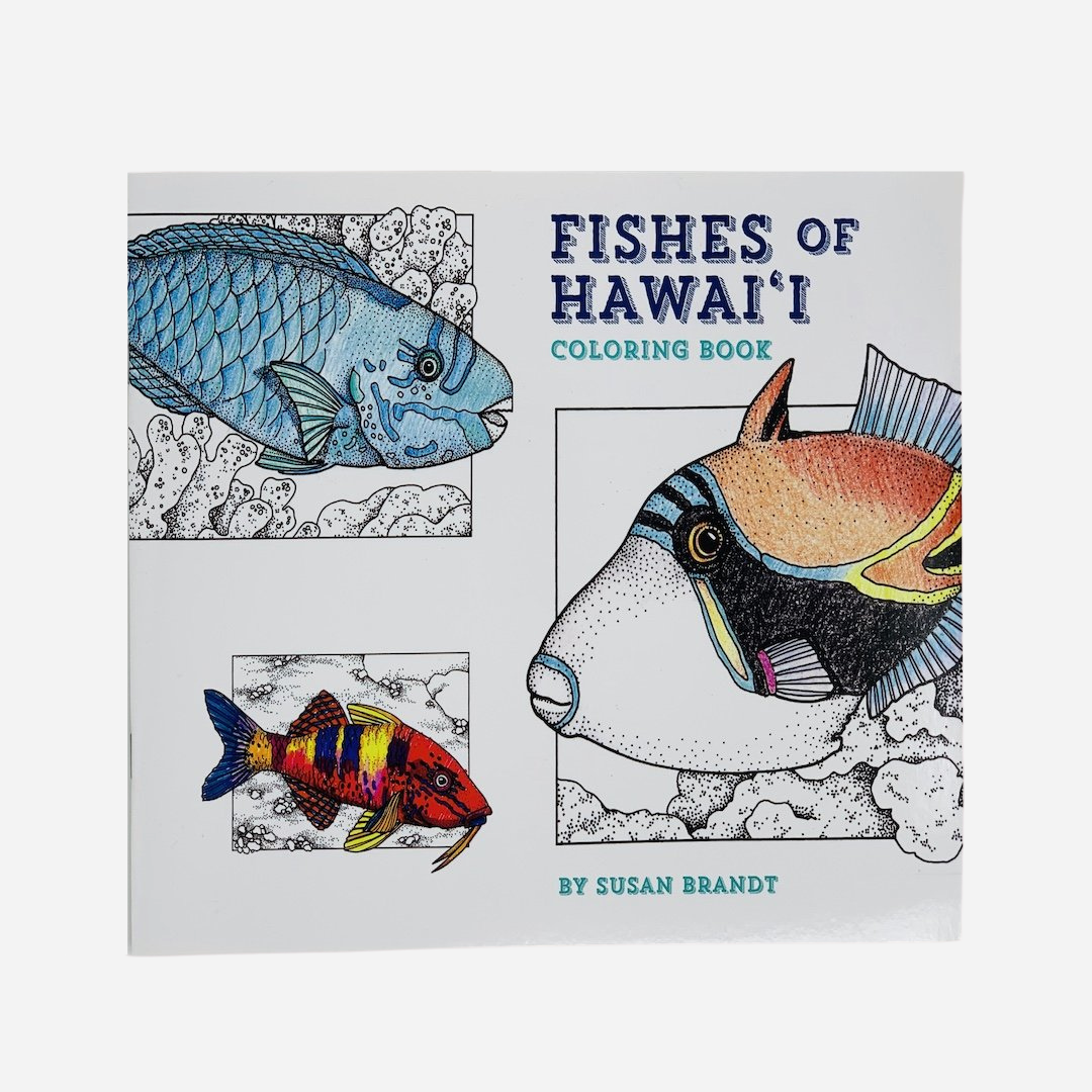 Bess Press - Fishes of Hawaiʻi Coloring Book