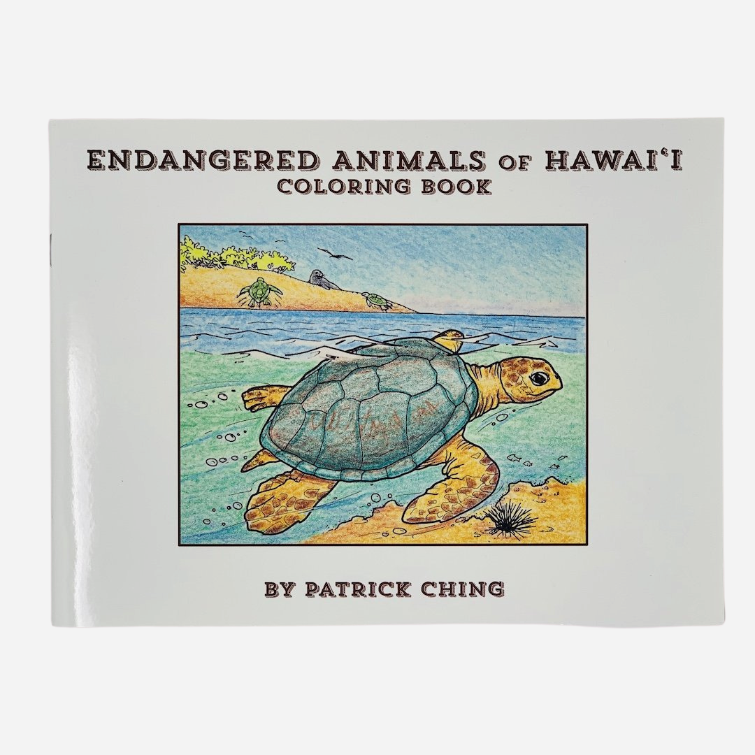 Bess Press - Endangered Animals of Hawaiʻi Coloring Book