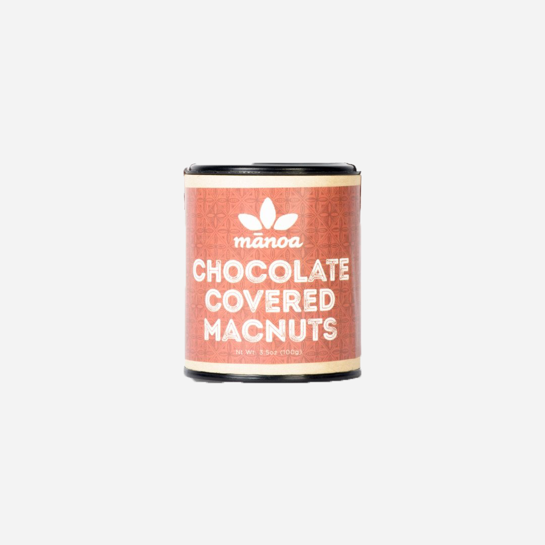 Mānoa Chocolate - Chocolate Covered Macnuts