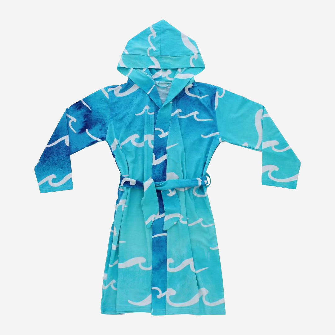 Coco Moon Nalu Hooded Toddler Robe