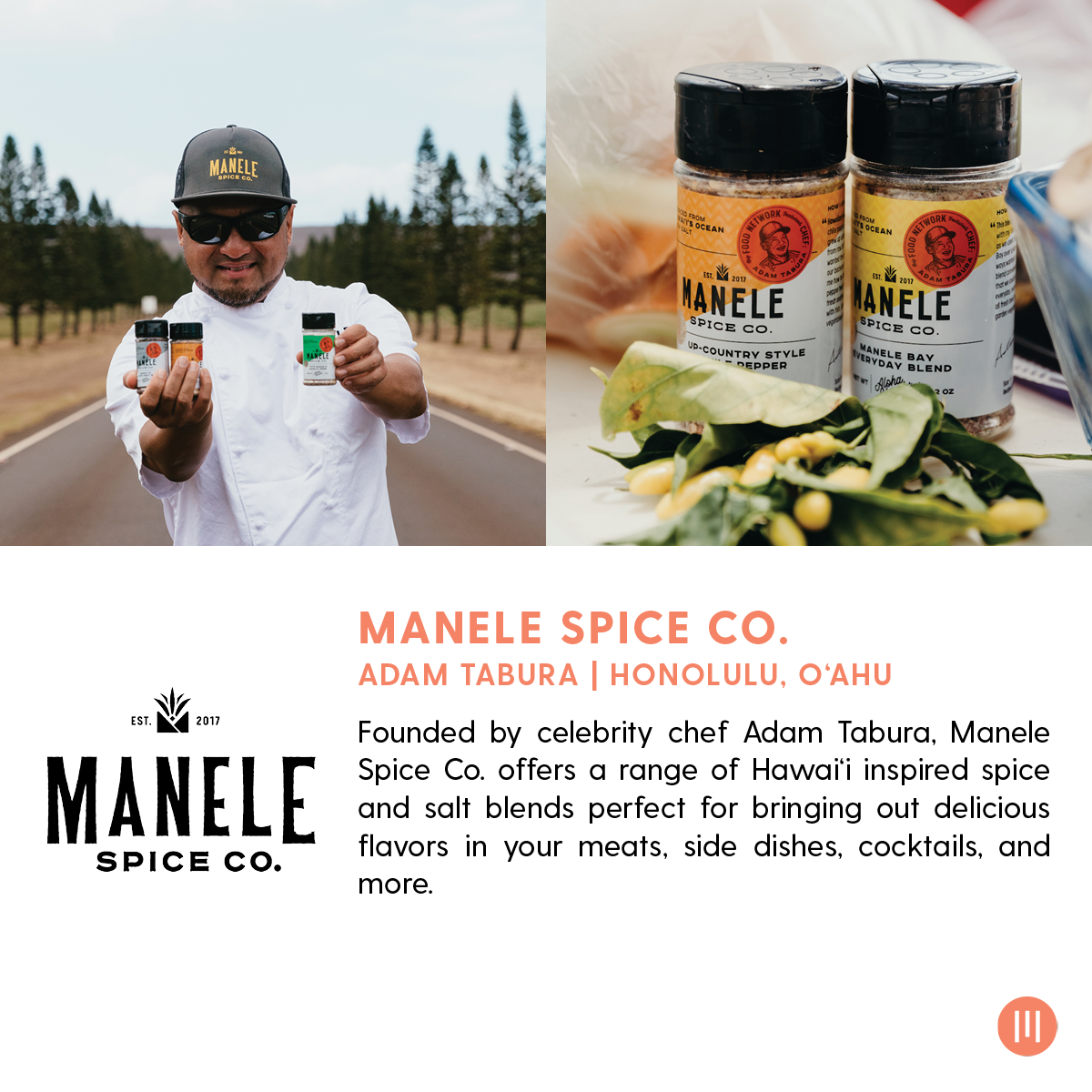 Manele Spice Co. Spices