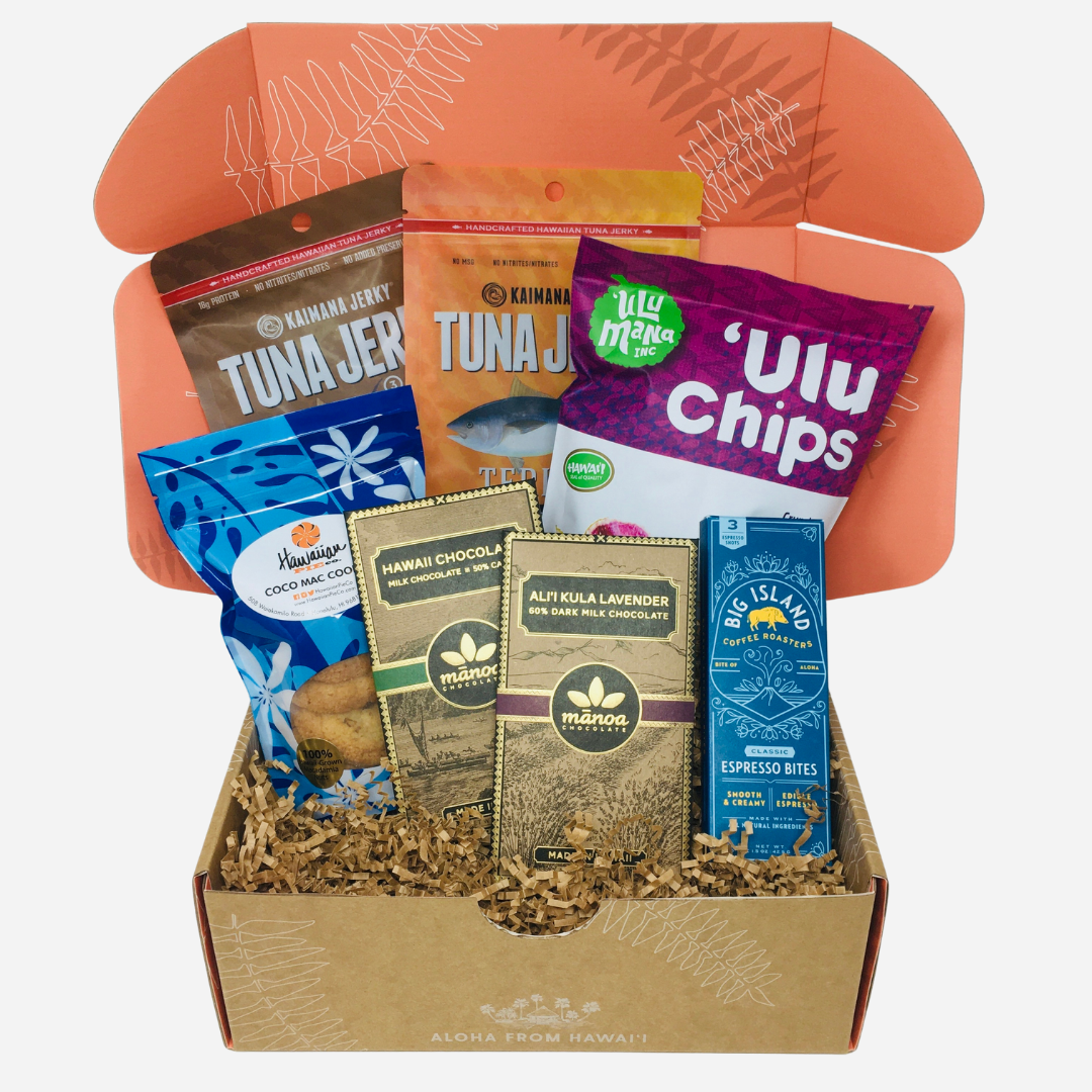 Limited-Edition Aloha Street Gift Set - Aloha Snacks