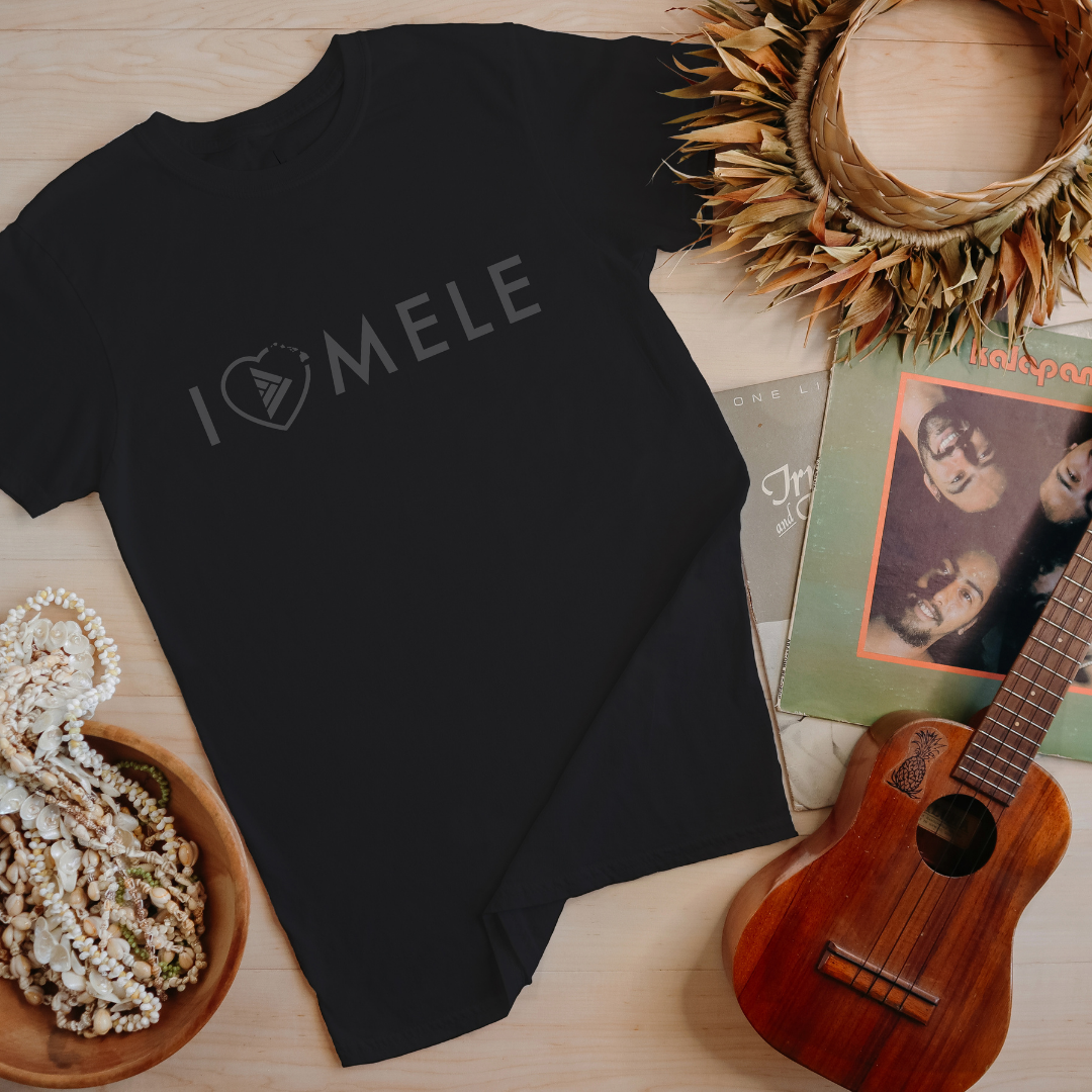 Haku Collective - I love Mele KIDS T-Shirt - NEW RELEASE