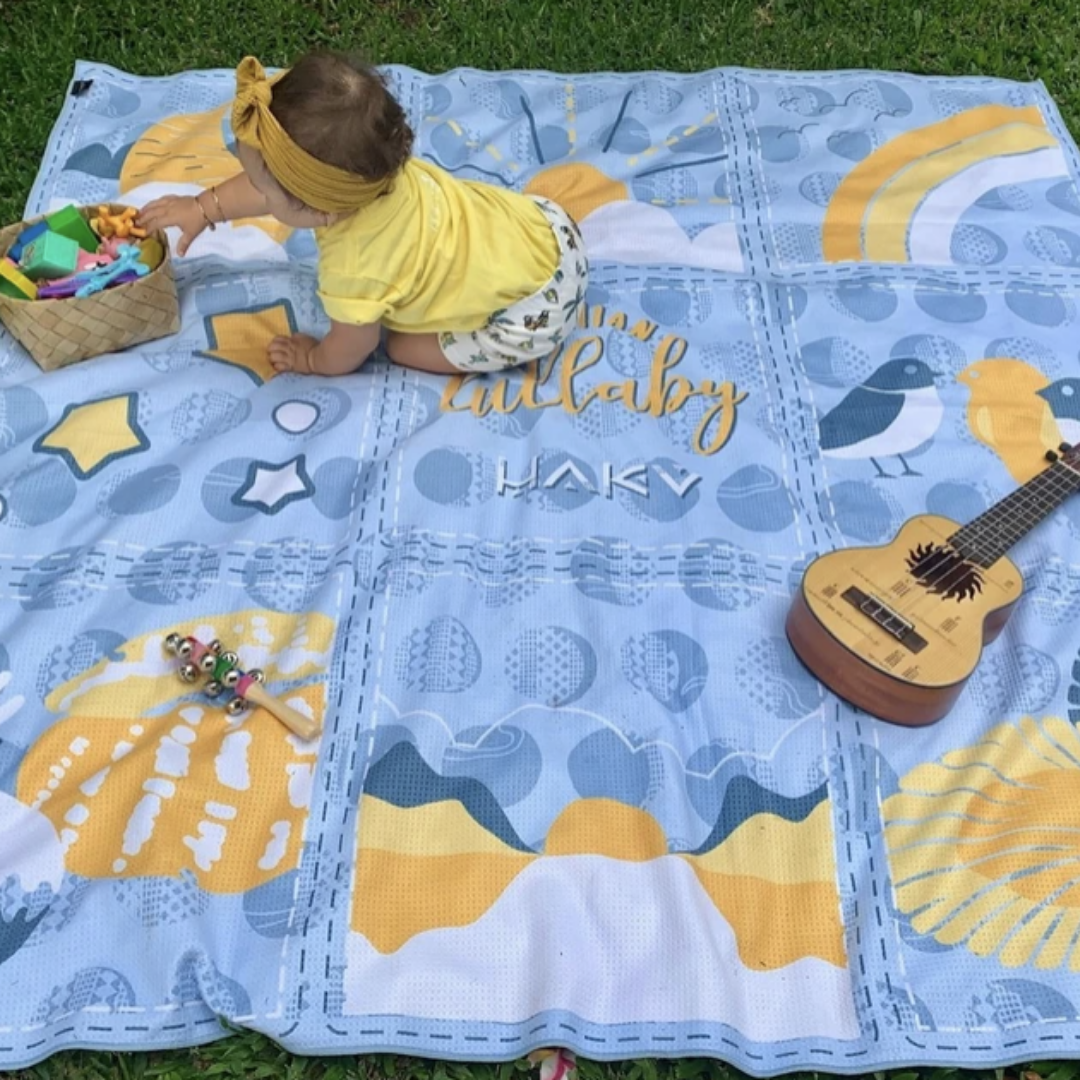 Haku Collective - Hawaiian Lullaby Beach Blanket