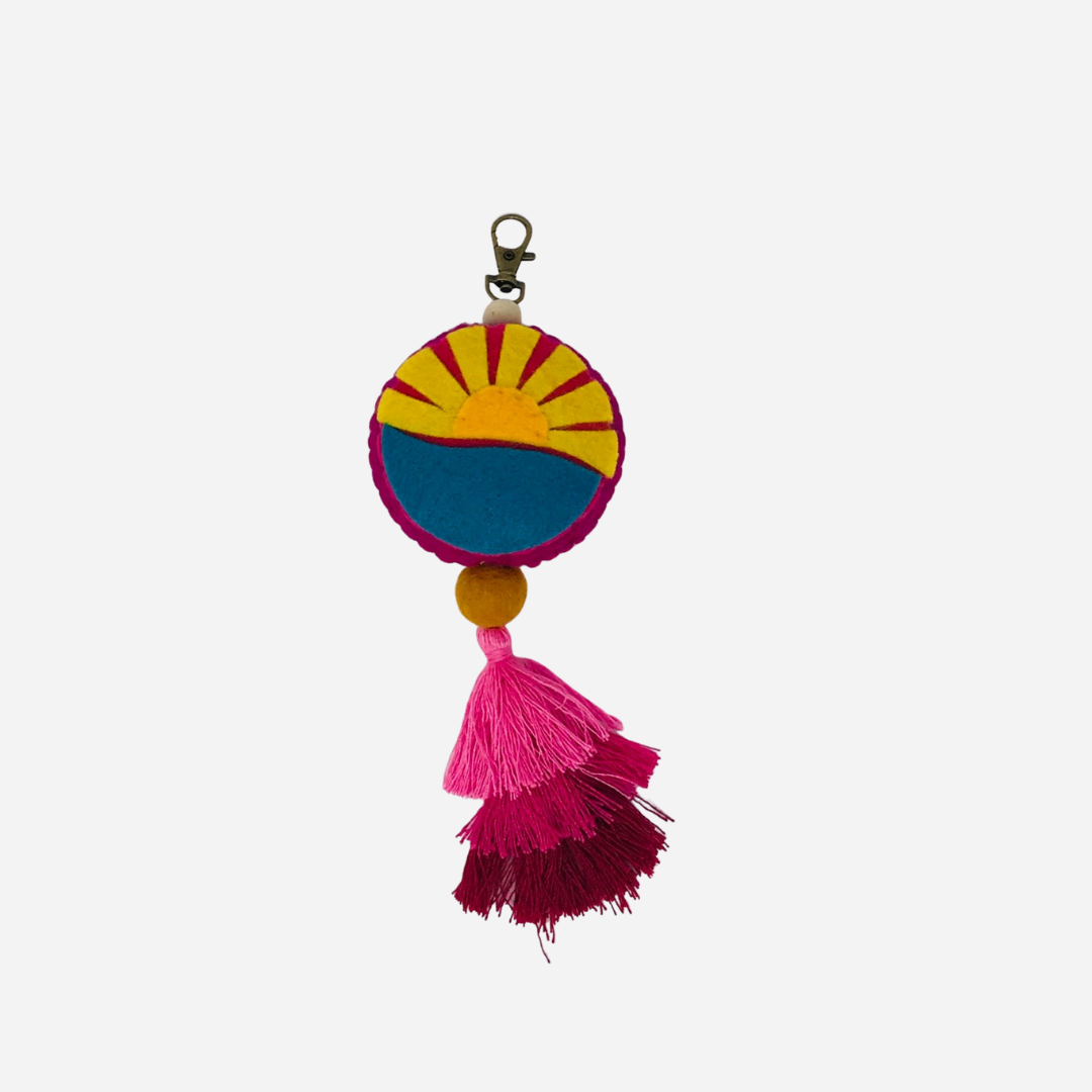 Haku Collective - Sunshine Tassel Clip
