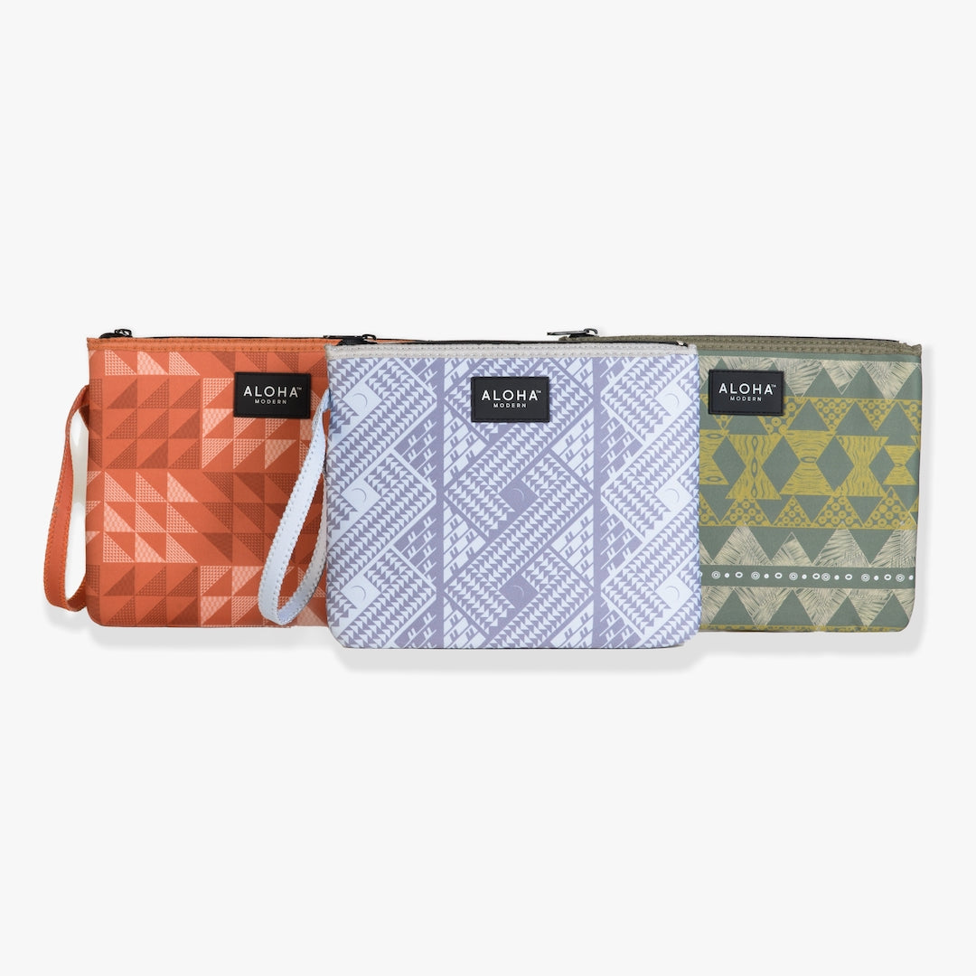 Aloha Modern - Splash Proof Neoprene Pouch 3 colors