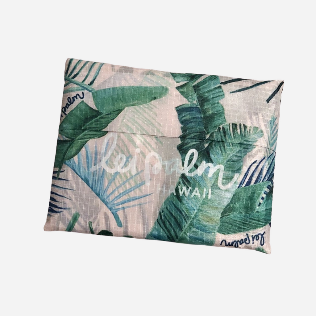 lei palm Foldable Shopping Tote