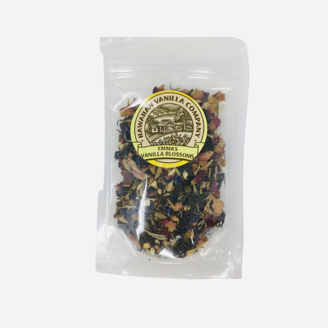 Hawaiian Vanilla Co. - Emma's Vanilla Blossoms Green Tea (Loose Leaf)