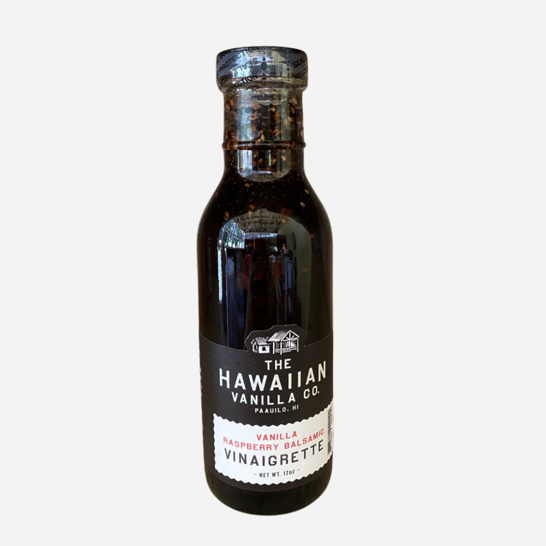 Hawaiian Vanilla Co. - Raspberry Balsamic Vinaigrette Dressing