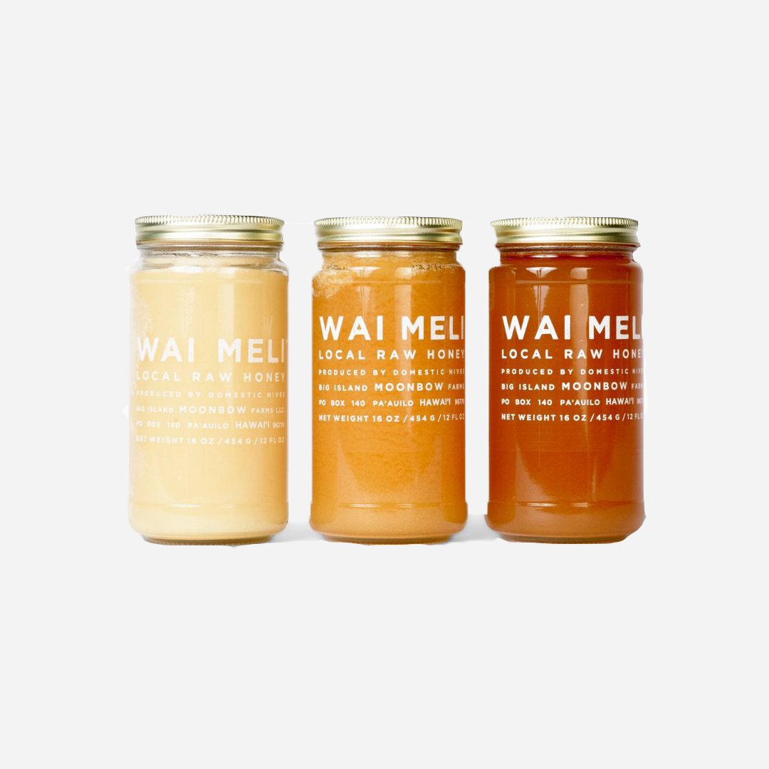 Wai Meli - Local Raw Honey 16 oz
