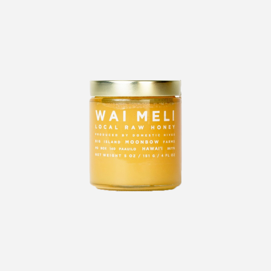 Wai Meli - Local Raw Honey 5 oz.