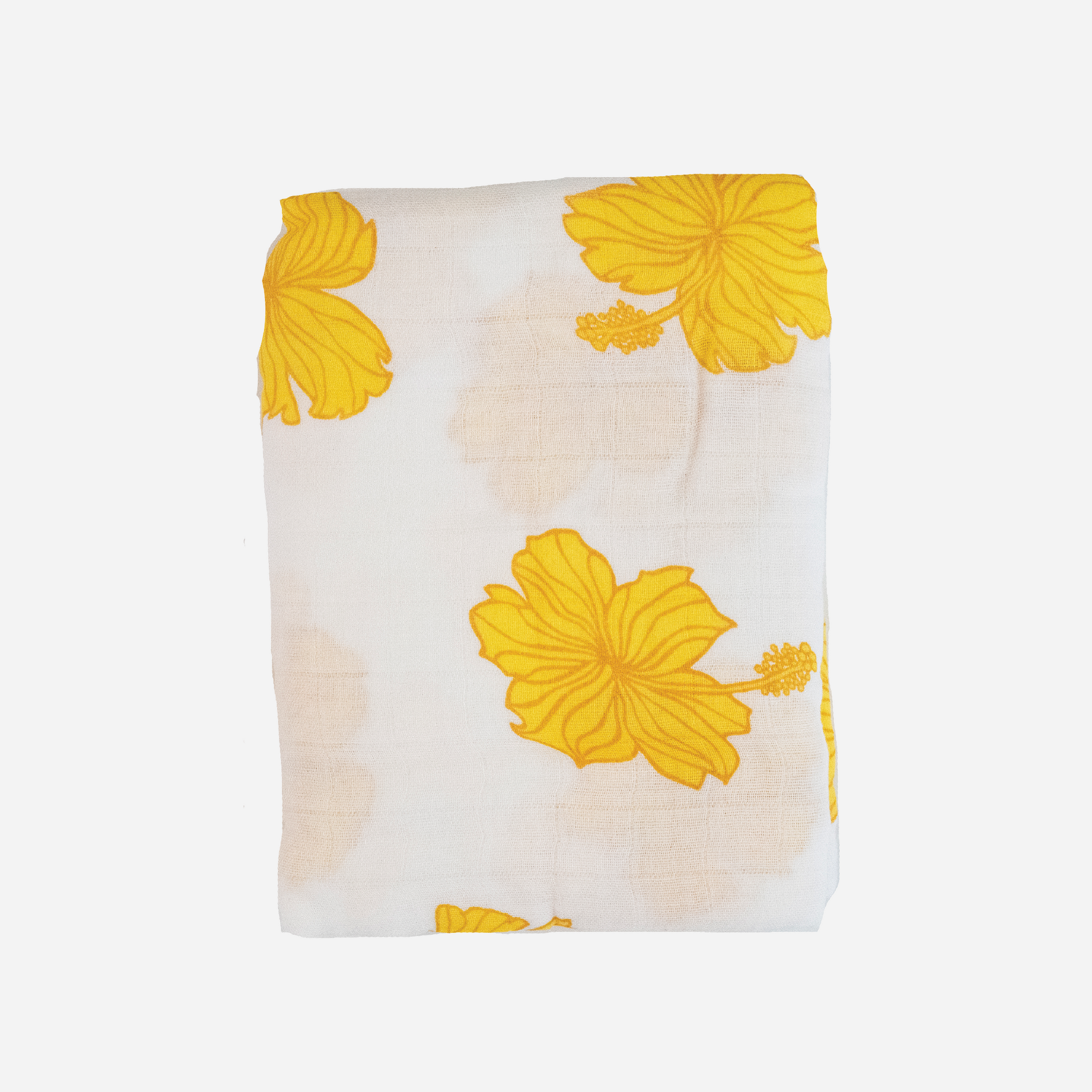 Coco Moon Golden Hibiscus Swaddle