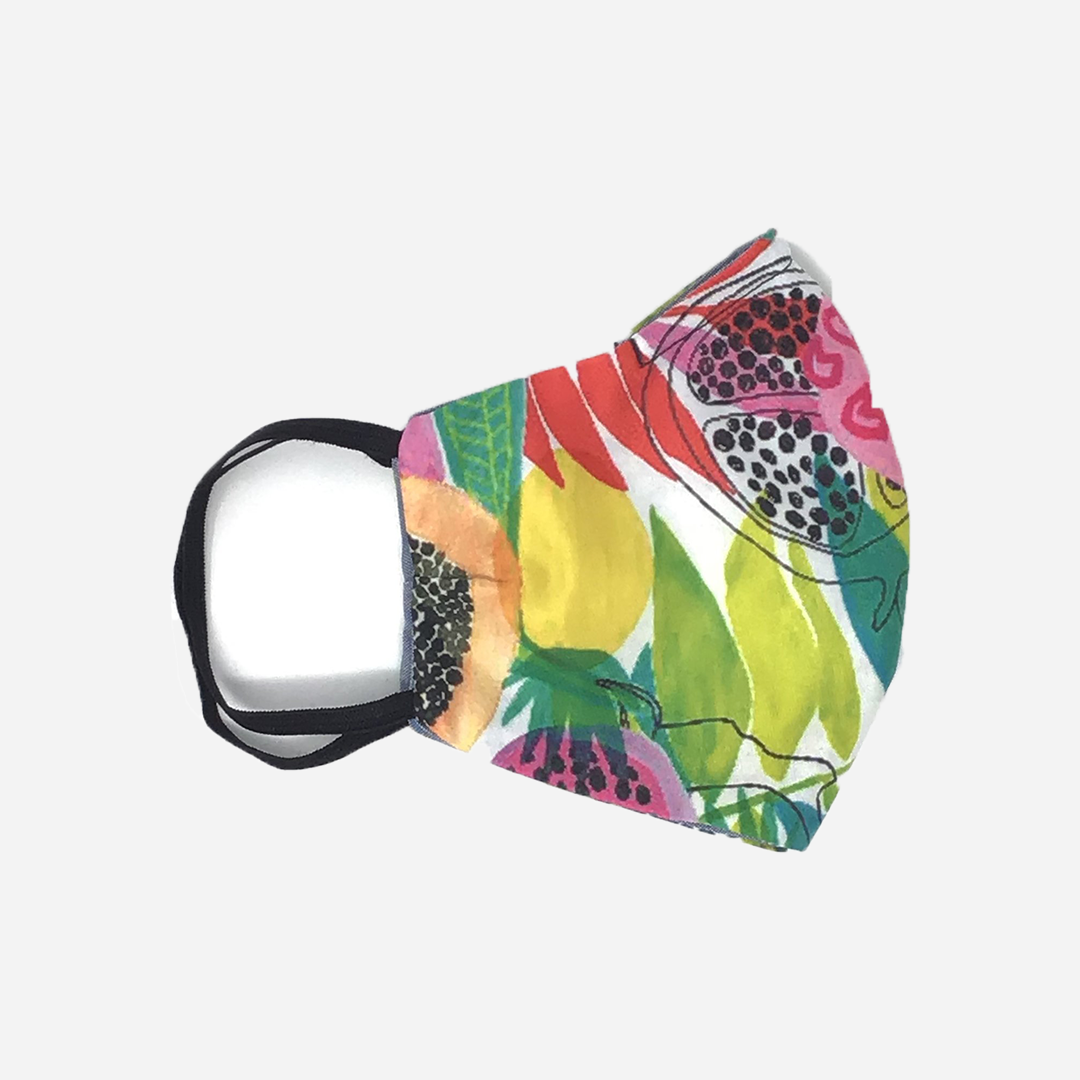 lei palm - Dragon Fruit Print Cloth Mask