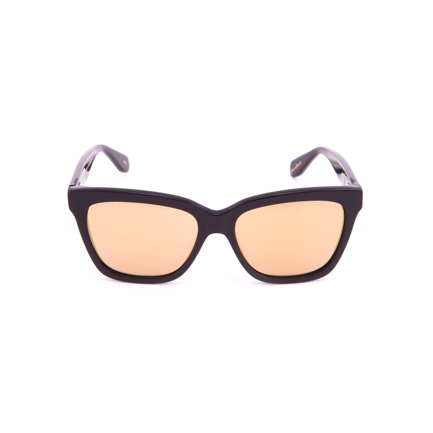 Mohala Eyewear - Mei Mirrored Lenses - Black Lava/Gold