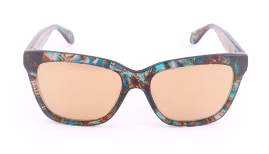 Mohala Eyewear - Mei Mirrored Lenses - Bora Bora/Gold