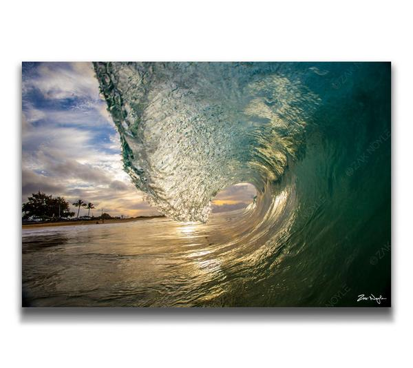 Zak Noyle - 24 x 36 Sea Glass (Acrylic)