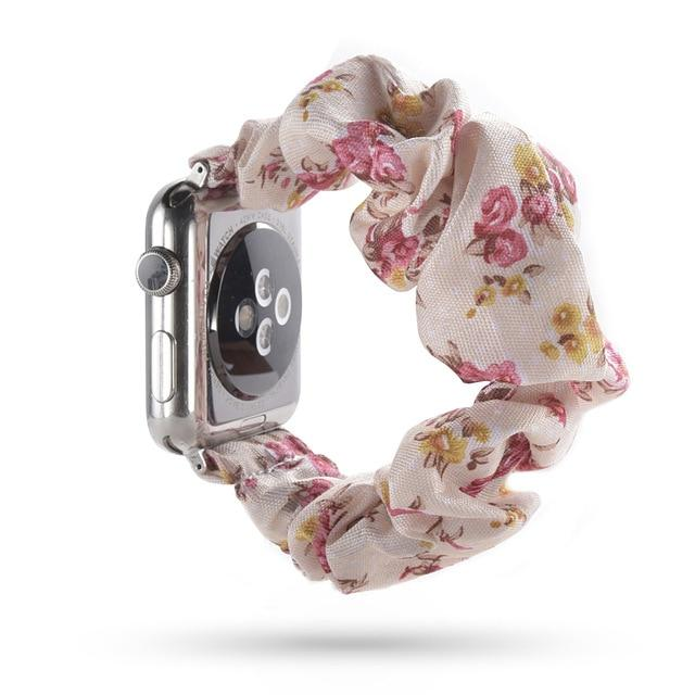 Lovely Scrunchies™ Pink and White Floral   Band