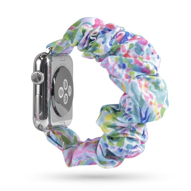 Lovely Scrunchies™   Multi-Shaded Dotted  Band