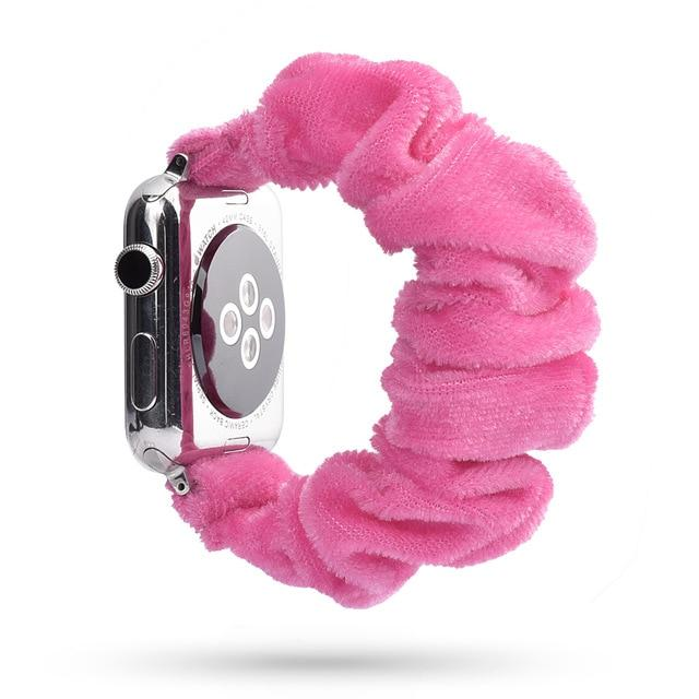 Lovely Scrunchies™   Dark Pink Band
