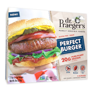 Dr. Praeger's Perfect Burger Package Image