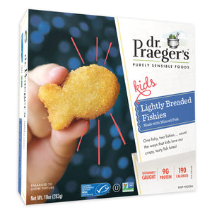 Dr. Praeger's Lightly Breaded Fishies Package Image