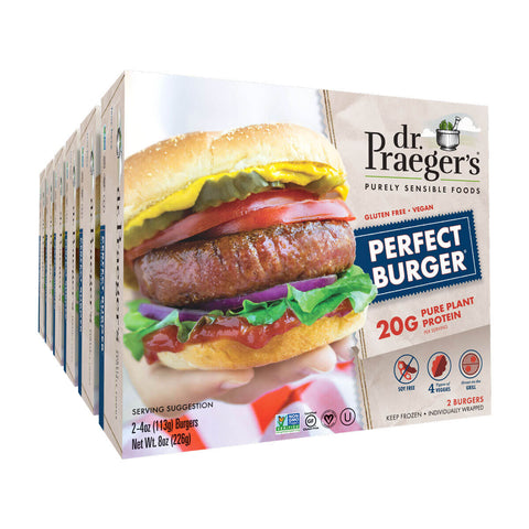 Dr. Praeger's Perfect Burger 6 Box Image