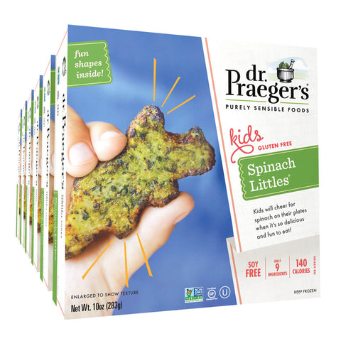 Dr. Praeger's Spinach Littles 6 Box Image