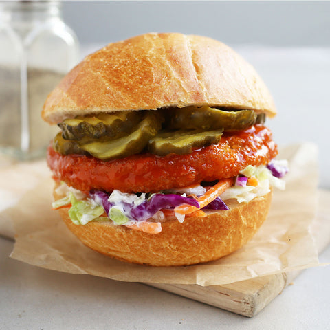 Dr. Praeger's Chickenless Patties Sandwich Image