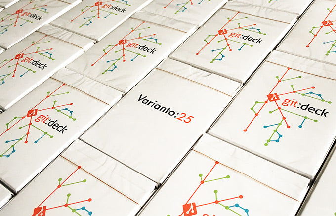 New product - git:deck playing cards