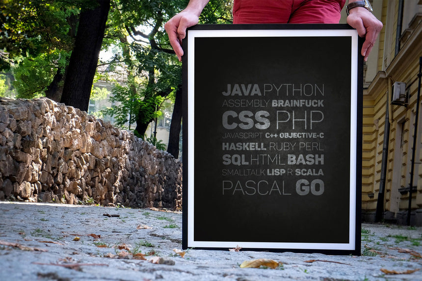 Eat, sleep, code, repeat | Poster